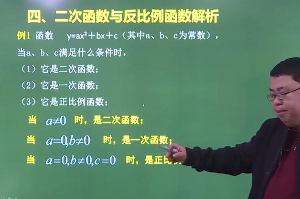 2021年安徽成人高考高起点《数学》二次函数考点解析